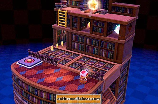 Captain Toad: Treasure Tracker 'Spinwheel Library' (Episode 1-7) guide