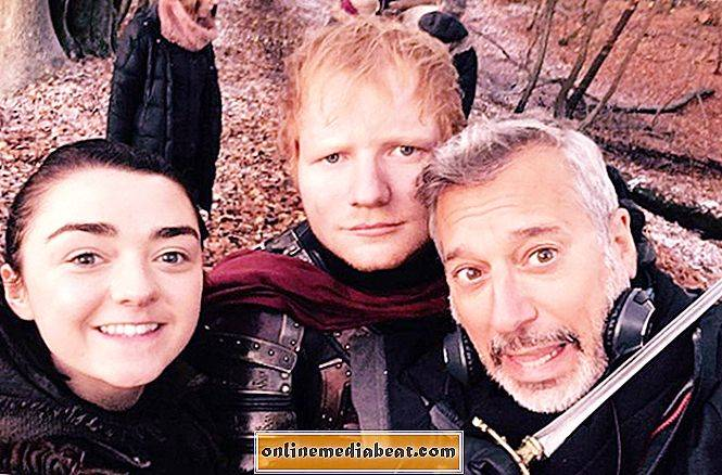 Game of Thrones 'Ed Sheeran cameo var alle seere kunne se i går kveld