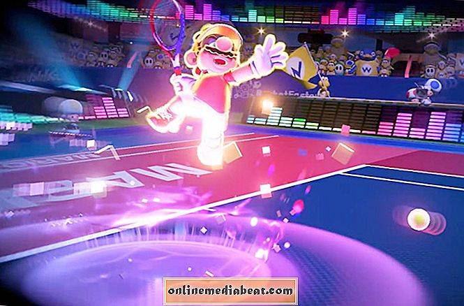 Mario Tennis Aces inntrykk: unrelenting press i multiplayer