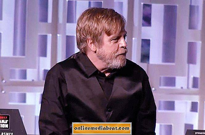 Mark Hamill präsentiert sein neues Luke Skywalker-Foto in Last Jedi bei der Star Wars Celebration
